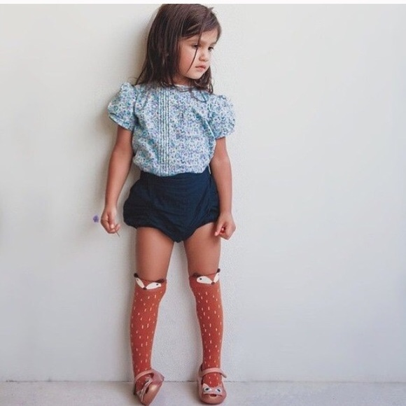 Accessories Toddler Girl Boy Unisex Fox Knee High Socks